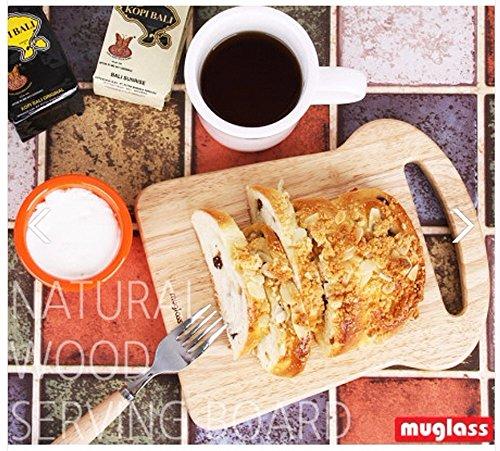 Woods Bread Shaped Gourmet Serving Cutting Board Tray Mango Hard Wood