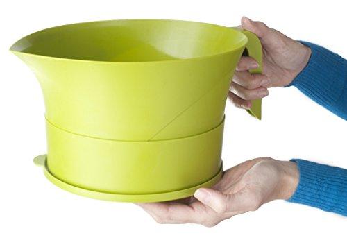 Easy Greasy Strain Save Kitchen Colander