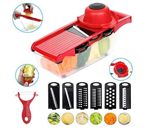 Multi-function Kitchen Vegetable Cutter Carrot Slicer Potato Shred Lettuce Cutter Cucumber Chopper Milling Machine