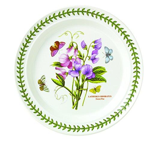 Portmeirion Botanic Garden Dinner Plates Set of 6 Assorted Motifs