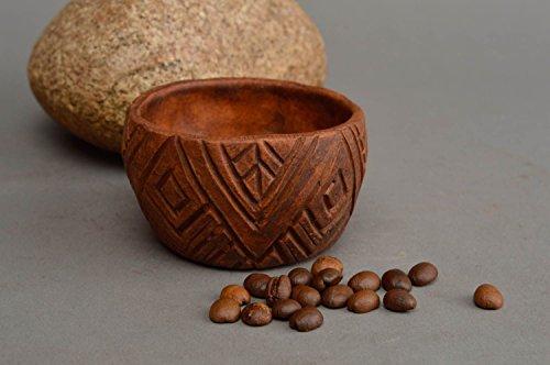Handmade unusual bowl ceramic designer kitchenware stylish interior decor