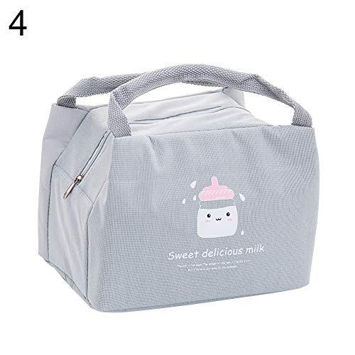 LUYANhapy9 Bar Tools Accessories Storage Pouch Portable Insulated Ice Cream Lunch Bag Bento Picnic Box Food Storage Tote Pouch