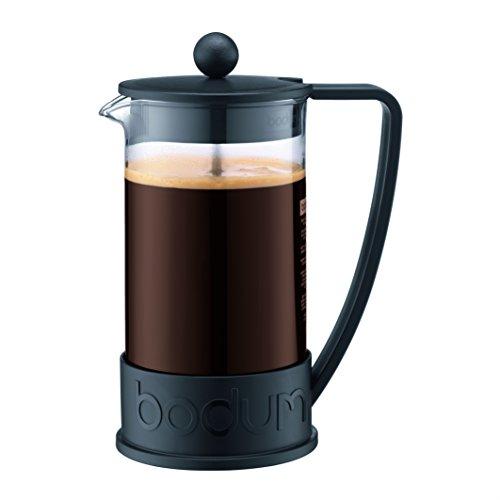 Bodum BRAZIL Coffee Maker French Press Coffee Maker Black 34 Ounce 8 Cup