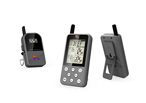 Maverick ET 733 Gray Long Range Wireless Dual Probe BBQ Smoker Meat Thermometer Set