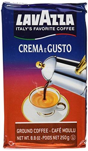 Lavazza Crema e Gusto Ground Coffee Italian Espresso 88-Ounce Brick