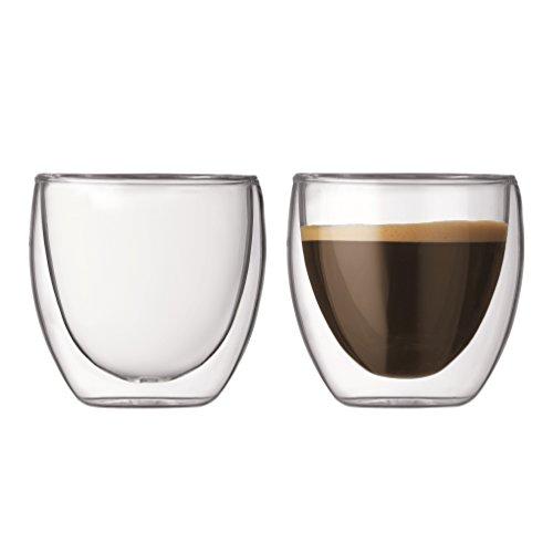 Bodum Pavina Double Wall EspressoShot Glass - Set of 2