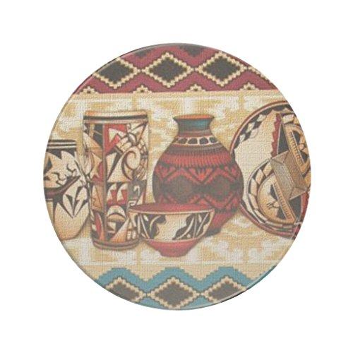Zazzle Southwestern Pattern Sandstone Drink Coaster