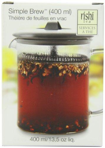Rishi Tea Simple Brew Loose Leaf Teapot 135 Fl Oz