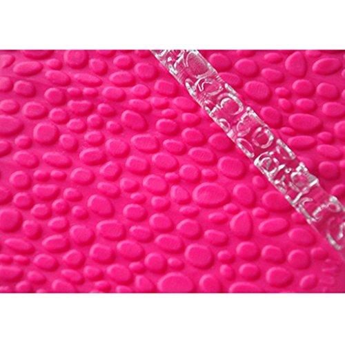 Four-c Cupcake Supplies Water Drop Acrylic Rolling Pin For Cupcake Decorating Color Transparent