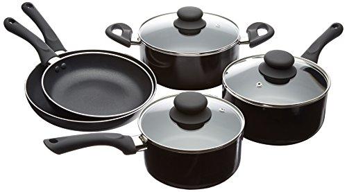 Amazonbasics 8-piece Nonstick Cookware Set