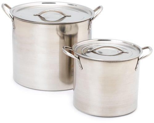 Imusa Stainless Steel Stock Pot, 20 Quart
