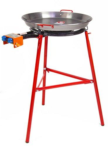 Paella Pan + Paella Burner And Stand Set - Complete Paella Kit
