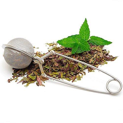 Tea Infuser Tea Strainer - 5CM2 Diameter Convenient Stainless Steel Handle Tea Mesh Ball Filter Stable Tea Strainer Strong Tea Infuser - Loose Leaf Tea Infuser