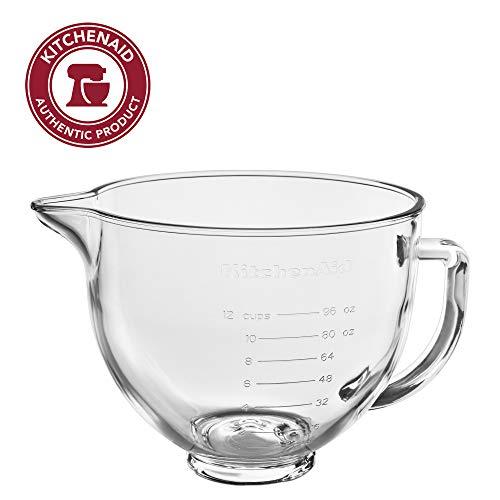 KitchenAid KSM5GB Stand Mixer Bowl 5 quart Glass with Measurement Markings