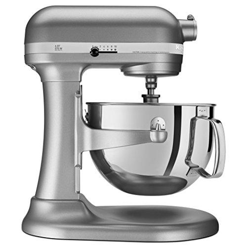 KitchenAid RKP26M1XSL Professional 600 6-Qt Bowl-Lift Stand Mixer Renewed