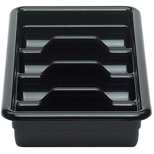 Cambro 1120CBP110 Cutlery Box 4 compartment 11-38L x 20-716W x 3-34H hi-gl
