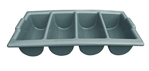 Cutlery Box 4 Compartment Grey 10 PiecesUnit