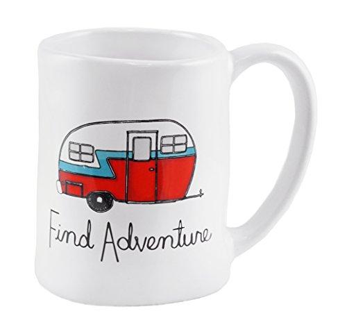 Find Adventure Camper Decorative Coffee Mug