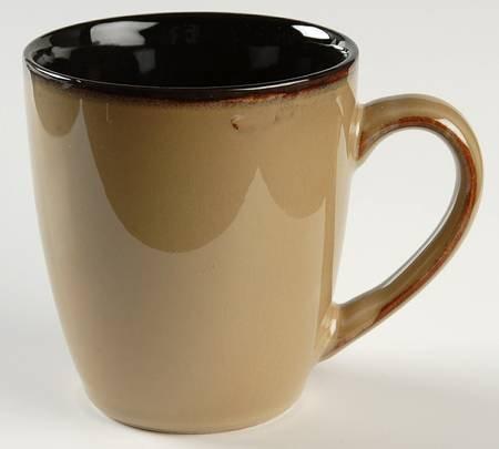 Gourmet Basics By Mikasa Horizon Red Coffee Mug