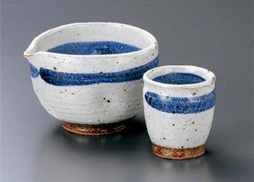 GOSUMAKI Tohki Japanese Pottery SAKE Set
