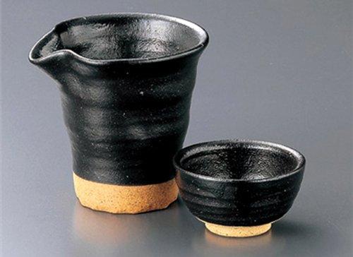 KUROHADA-KATAKUCHI Tohki Japanese Pottery SAKE Set 39inches Set of 10 SAKE Sets Japanese original Porcelain