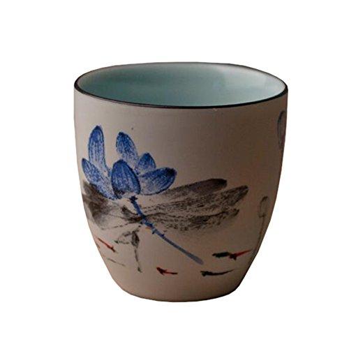 Chinese Japanese Ceramic Tea Cups Household Tea Set Teacup Set of 2 C