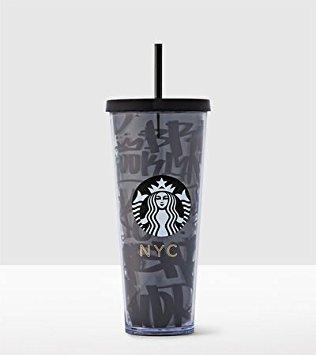 Starbucks New York Local Collection Venti 24oz Cold Cup TUMBLER