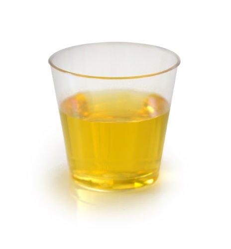 Fineline 401 Clear Plastic Shot Glass1 Ounce - 2500 Per Case