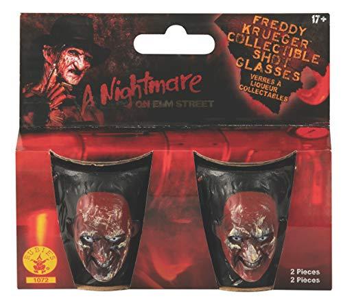 Nightmare on Elm Street Freddy Krueger Drinking Party Shot Glasses Set of 2