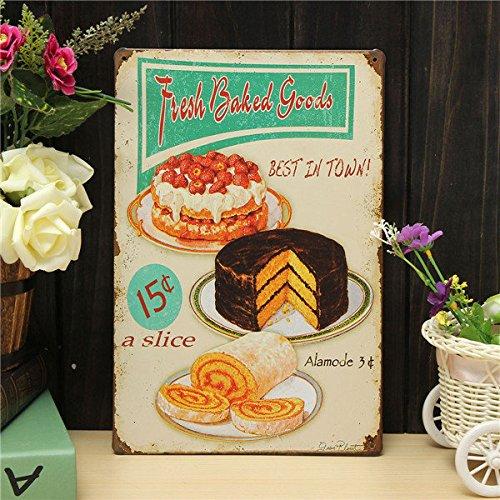 Pink Lizard Bake Sheet Metal Drawing Retro Metal Painting Pub Club Cafe Home Poster Sign Tin Decor
