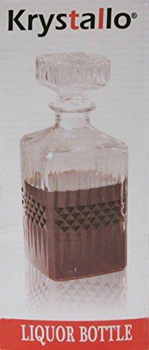 Krystallo Liquor Glass Bottle 1 Ltr