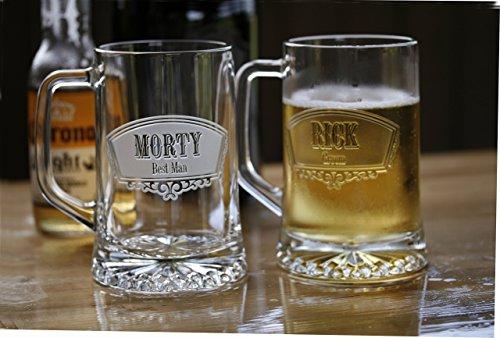 Groomsmen Gift Ideas Best Man Beer Mugs Set of 5