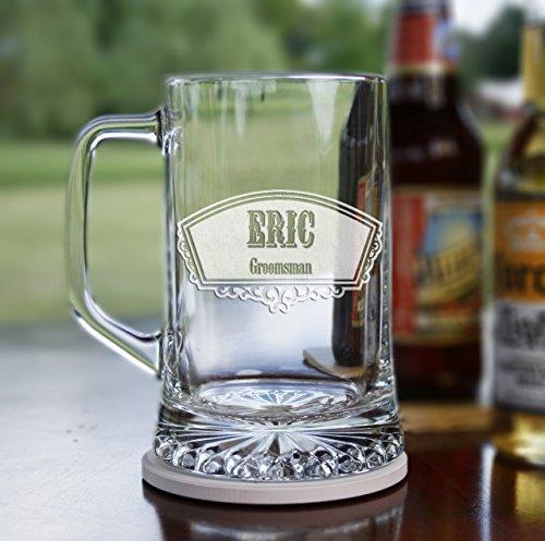 Groomsmen Gift Ideas Best Man Beer Mugs Set of 6