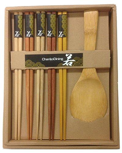 Japanese Chopsticks Gift Set Rice Paddle Included
