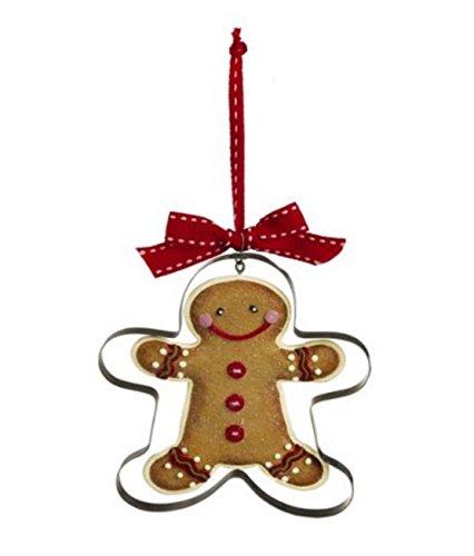 Grasslands Road Gingerbread Cookie Cutter Ornament ~ Buttons