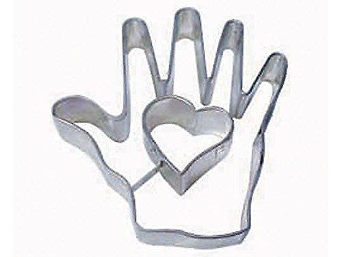 Heart in Hand Cookie Cutter 4 NEW Love Valentine