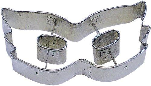 CybrTrayd RM-0934 R&M Mardi Gras Mask 4 Cookie Cutter Metallic