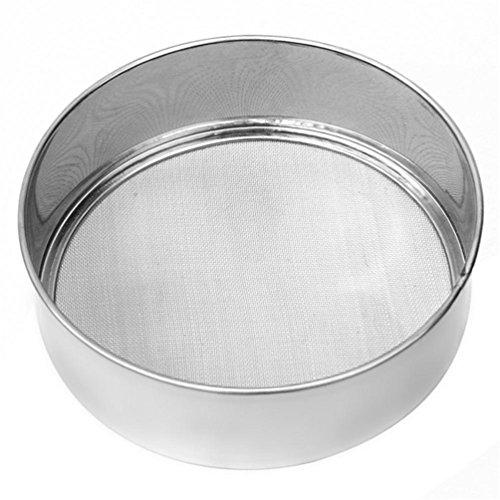 Gooday Stainless Steel Ultra Fine Mesh Flour Sifting Sifter Sieve Strainer Cake Baking Kitchen Suppliessieving machine