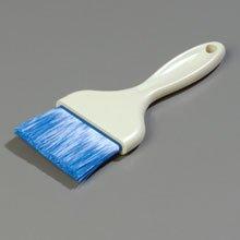 Blue Sparta Galaxy Flat Pastry Brush - 3 inch Wide with Nylon Bristle -- 12 per case