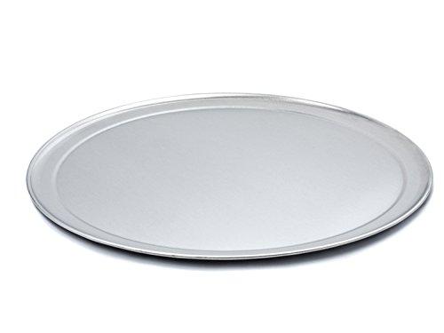 USA Pan Bare Aluminum Bakeware 1097PZ-BB 14 Inch Pizza Baking Pan Warp-Resistant Rust-Proof Bakeware