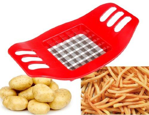 Creative Potato Chip Cutter Red