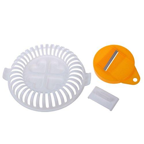 Vaorwne Plastic DIY Potato Chip Maker Vegtable Slicer Crisp wave New