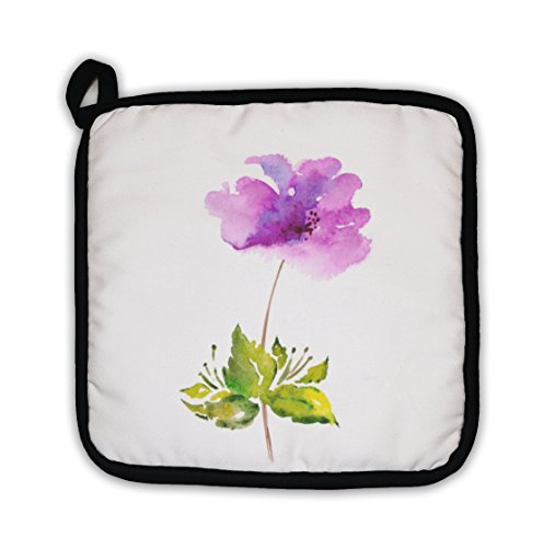 Gear New Lilac Flower Watercolor Floral Pot Holder