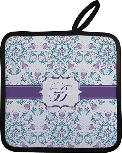 YouCustomizeIt Mandala Floral Pot Holder Personalized