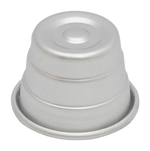 Ottinetti Plain Bottom Pudding Mold 18cm7 Silver