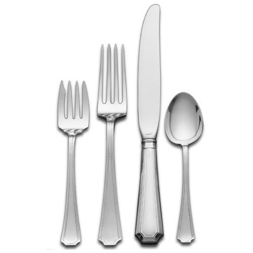 Gorham Fairfax 4-Piece Sterling Silver Flatware Place Set Service for 1