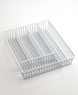Martha Stewart Collection Rubber Flatware Tray
