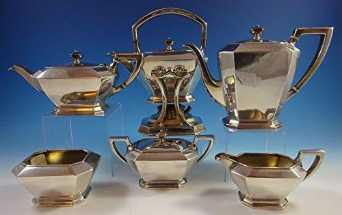 Fairfax by Durgin-Gorham Sterling Silver Tea Set 6pc 04 1277 Fabulous