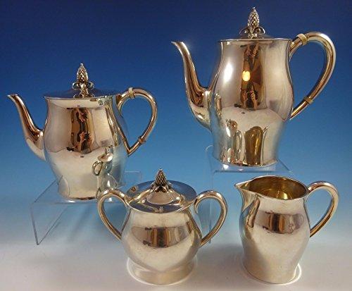 Paul Revere by Tuttle Sterling Silver Tea Set 4pc 390 1286