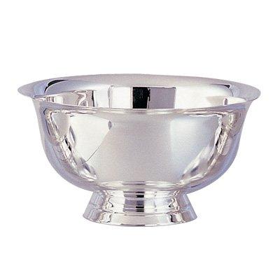 Paul Revere Stainless Steel Silver Bowl 8 Diameter